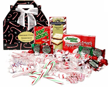Peppermint Candy Filled Gift Box (Sold Out)