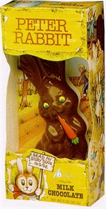 Peter Rabbit Hollow Milk Chocolate Easter Bunny 5oz.