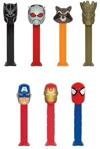 PEZ Dispensers MARVEL SUPERHEROES 12ct.