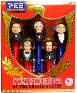 PEZ Education Series - Presidents of The United States Volume II: 1825-1845 (sold out)