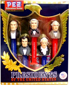 PEZ Education Series - Presidents of The United States Volume III: 1845-1861 (sold out)