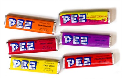 PEZ CANDY REFILLS (coming soon)