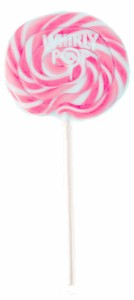 Pink & White Whirly Pop 1.5oz - 3 inch 12ct