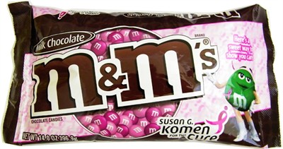 M&M's Pink Milk Chocolate Candies 14oz. (Sold Out)