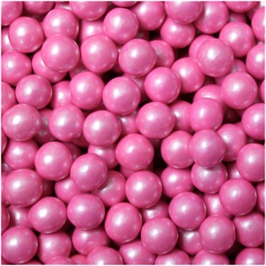 Sixlets Pink Pearl Candy - 5LB
