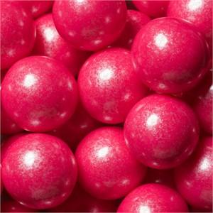 Pink Shimmer 1-Inch Gumballs Large Bulk