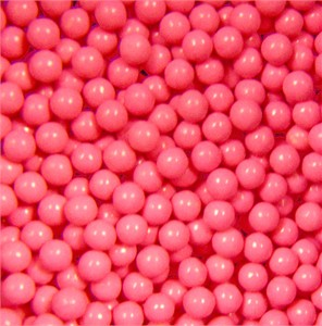 Pink Sugar Candy Beads 5LB (sold out)