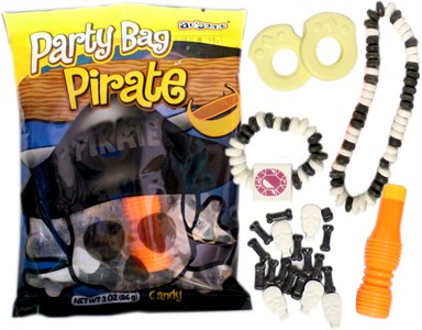 Pirate Candy Party Favor Bag