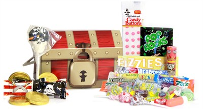 Pirate Treasure Chest Candy Assortment Gift Box