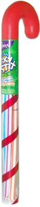 Giant Pixy Stix Filled Candy Cane Tube (Sold Out)