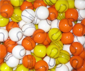 Playball Baseball Gumballs