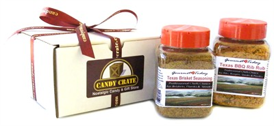 Lil' Tex Seasoning Gift Set with FREE Cook Book (sold out)
