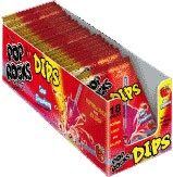 Pop Rocks Dips - Sour Strawberry 18ct. (sold out)