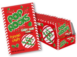 Pop Rocks Candy Cane Flavor 24ct