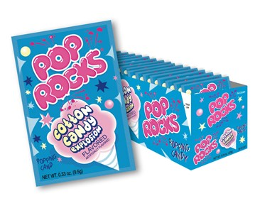 Pop Rocks Limited Edition Cotton Candy Explosion 24ct.