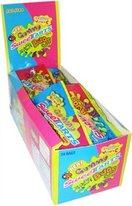 Gummy Sweetart Bugs 24ct. (DISCONTINUED)