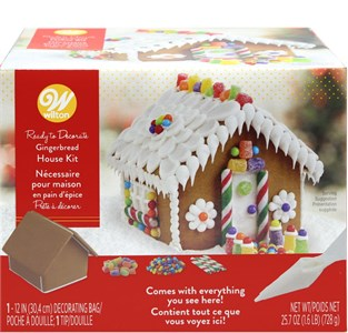 Pre-baked and Pre-assembled Gingerbread House (sold out)
