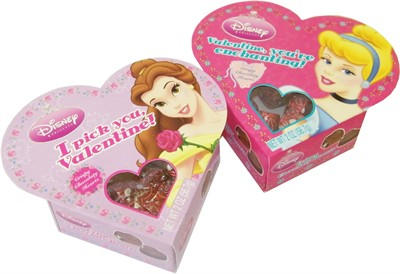 Disney Princess Chocolate Valentine Heart Box (sold out)