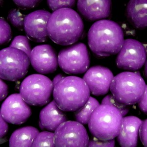 Purple 1-Inch Gumballs Large 5LB
