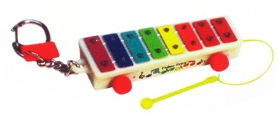 Pull-A-Tune Xylophone Keychain (DISCONTINUED)