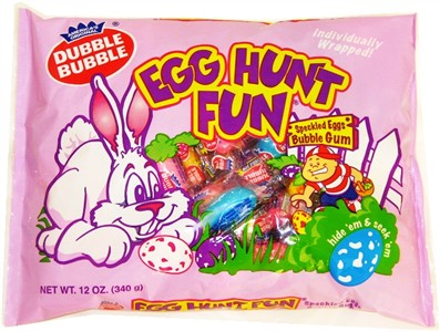 Dubble Bubble Egg Hunt Fun Bubble Gum 12 oz. (Sold Out)