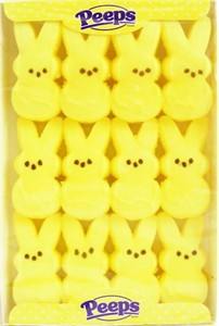 Marshmallow Peeps Yellow Easter Bunnies 12ct (sold out)