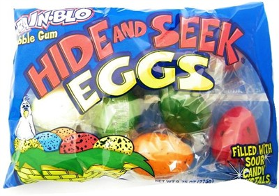 Rain-blo Bubble Gum Hide and Seek Eggs 9.75oz. (DISCONTINUED)