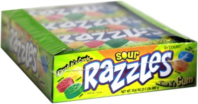 Razzles Sour 24ct.