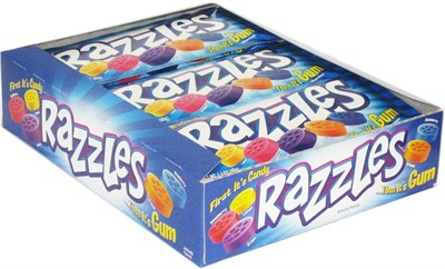 Razzles Candy Original 24ct