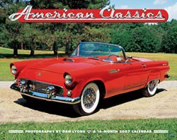 American Car Classics 2007 Wall Calendar (sold out)