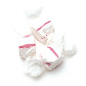 Red & White Peppermint Salt Water Taffy 3LB