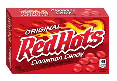 Red Hots Theatre Size Boxes 12ct.