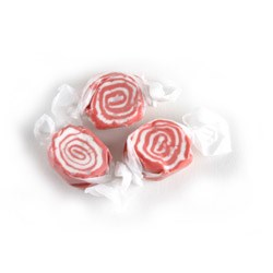 Red Licorice Swirl Salt Water Taffy 3LB