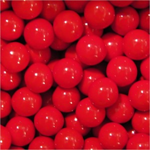 Sixlets Red Candy - 2LB