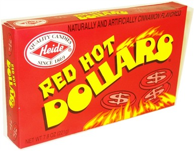Red Hot Dollars Theatre Box 7.8oz (DISCONTINUED)