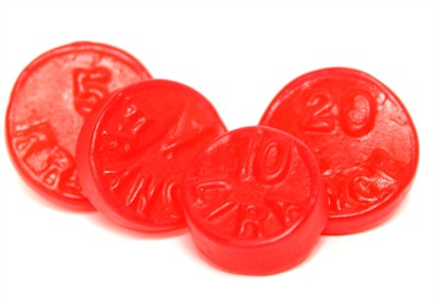 Red JuJu Coins 5LB  (coming soon)
