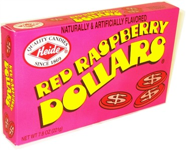 Red Raspberry Dollars Theatre Box 7.8oz  (Sold Out)