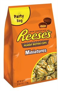 Reese's Peanut Butter Cup Miniatures 40oz.