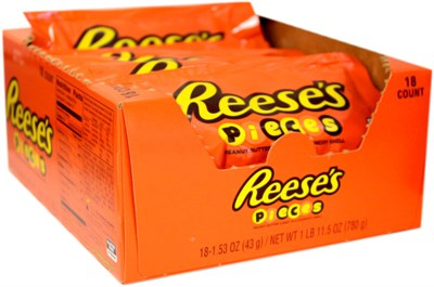 Reeses Pieces Peanut Butter Candies - 36ct.