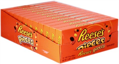 Reese's Pieces Theater Size Boxes - 12ct.