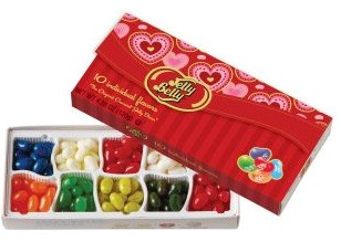 Jelly Belly 10 Flavor Valentine Gift Box  (Sold Out)