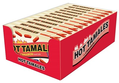 Hot Tamales Cinnamon Retro Theater Boxes 12ct.