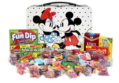 Retro Mickey Mouse Nostalgic Candy Filled Tin (coming soon)