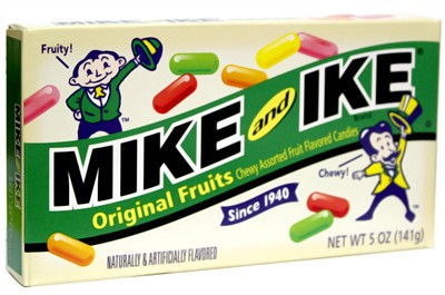 Mike and Ike Original Fruits Retro Theater Box