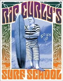 Rip Curly Surf School Sign (SOLD OUT)
