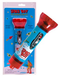 Space Boy Siren Lite Flashlight (DISCONTINUED)