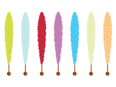 <strong>Rock Candy, Rock Candy Sticks </strong>