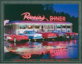Rosie's Diner Tin Sign (SOLD OUT)