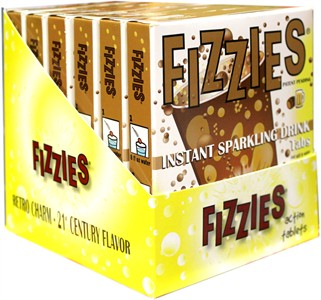 Fizzies Candy Drink Tablets - Root Beer 6ct.