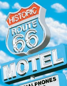 A. Ross - Route 66 Motel (SOLD OUT)